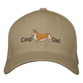 Boné Chapéu bordado pai do Corgi