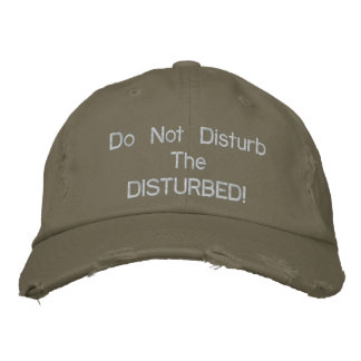 Boné Chapéu bordado perturbado