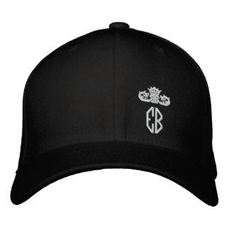 Boné Chapéu bordado real do buldogue inglês
