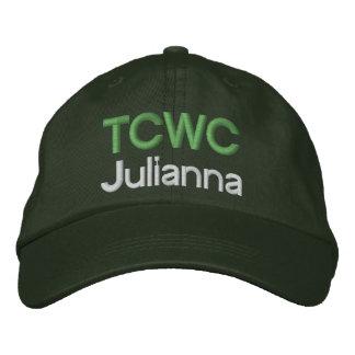 Boné Chapéu bordado TCWC