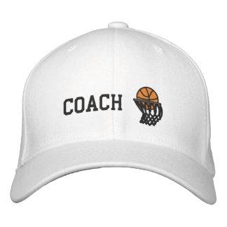 Boné Chapéu bordado treinador das aros de basquetebol