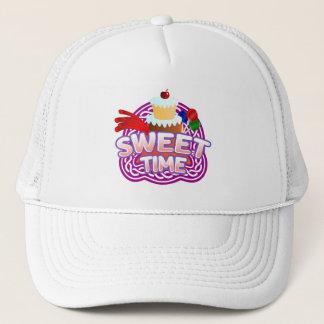 Boné Chapéu branco do camionista do tempo doce