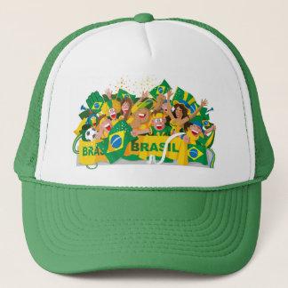 Boné Chapéu brasileiro do futebol