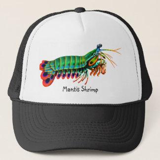 Boné Chapéu colorido do camarão de louva-a-deus do