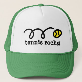 Boné Chapéu com design de salto da bola de tênis