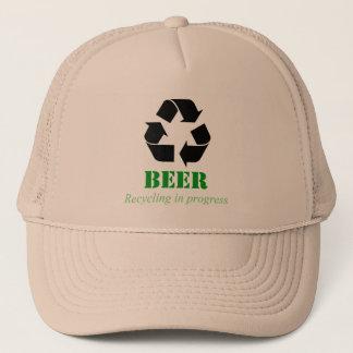 Boné Chapéu com dizer engraçado do reciclagem da
