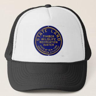 Boné Chapéu com símbolo da terra do estado de NY