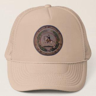 Boné Chapéu confederado do selo