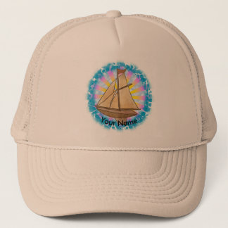 Boné Chapéu conhecido feito sob encomenda do veleiro
