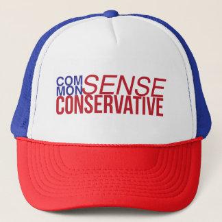 Boné Chapéu conservador do camionista do senso comum