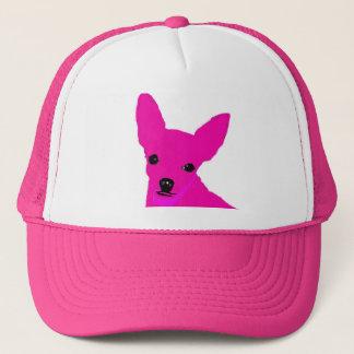 Boné Chapéu cor-de-rosa da chihuahua
