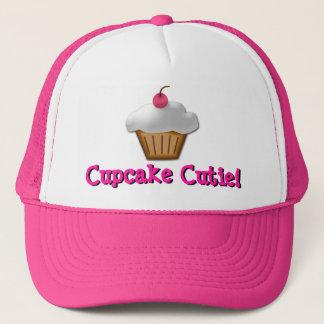Boné Chapéu cor-de-rosa de Cutie do cupcake