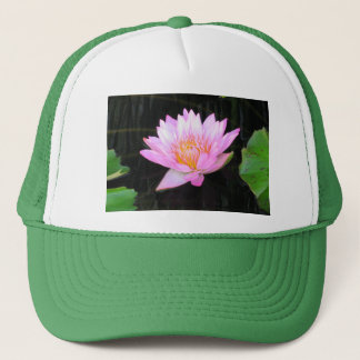 Boné Chapéu cor-de-rosa de Lotus Waterlily