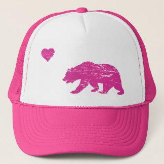 Boné Chapéu cor-de-rosa do camionista do amor de