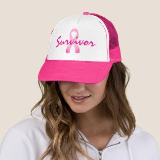 Boné Chapéu cor-de-rosa do camionista do sobrevivente