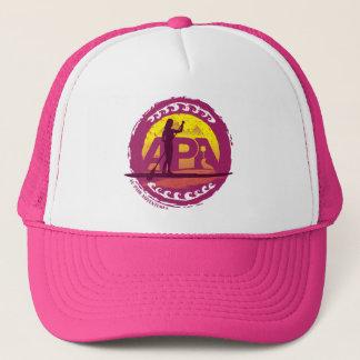 Boné Chapéu cor-de-rosa do selo