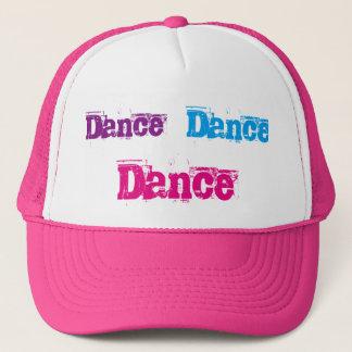Boné Chapéu cor-de-rosa e branco do camionista