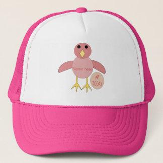Boné Chapéu cor-de-rosa feito sob encomenda do pintinho