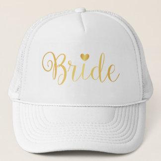 Boné Chapéu - coração da noiva