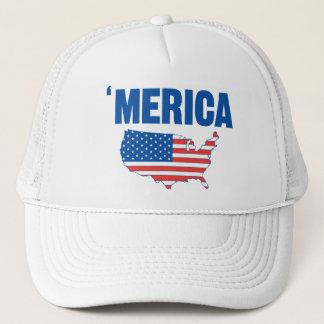 Boné Chapéu corajoso de Merica