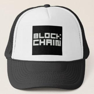 Boné Chapéu cripto de Blockchain Cryptocurrency