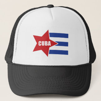 Boné Chapéu cubano da bandeira