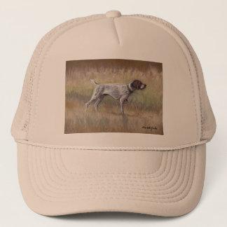 Boné Chapéu da arte do cão do ponteiro de Shorthair do