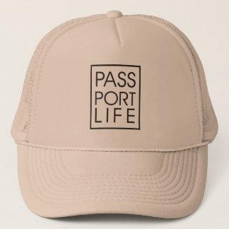 Boné Chapéu da bagagem da vida do passaporte