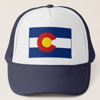 Boné Chapéu da bandeira de Colorado