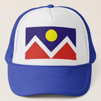Boné Chapéu da bandeira de Denver