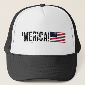 Boné 'Chapéu da bandeira de Merica EUA