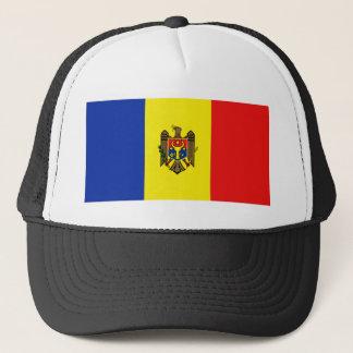 Boné Chapéu da bandeira de Moldova