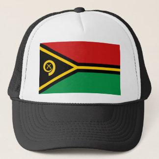 Boné Chapéu da bandeira de Vanuatu