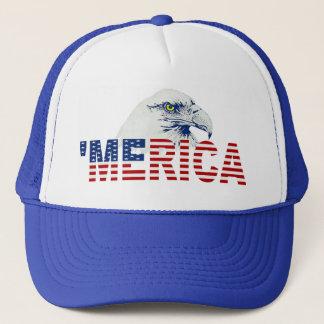 Boné 'Chapéu da bandeira dos E.U. da águia americana de