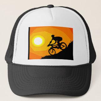 Boné chapéu da bicicleta