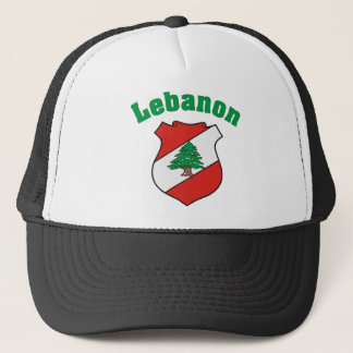 Boné Chapéu da brasão de Líbano/bandeira libanesa