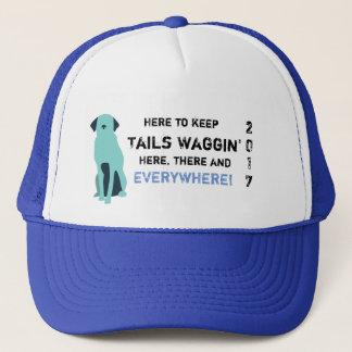 Boné Chapéu da caridade de Waggin das caudas (escala do