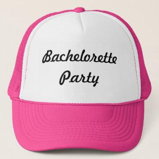 Boné Chapéu da festa de solteira