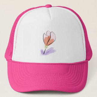 Boné Chapéu da flor do Watercolour