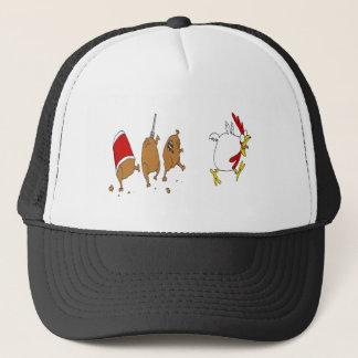Boné chapéu da galinha do zombi