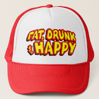 Boné Chapéu da gordura, o bêbedo & o feliz