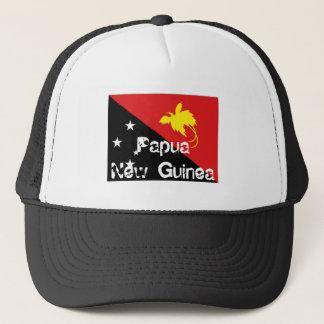 Boné Chapéu da lembrança da bandeira de Papuá-Nova