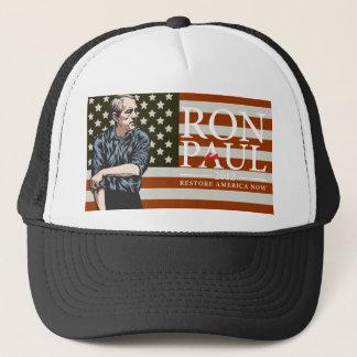 "Boné Chapéu da liberdade americana de Ron Paul ""indo"