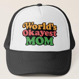 Boné Chapéu da mamã do Okayest do mundo