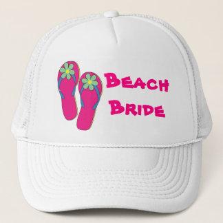 Boné Chapéu da noiva da praia:  Design do falhanço de