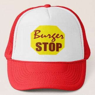 Boné Chapéu da parada do hamburguer