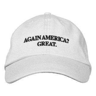 Boné Chapéu da paródia do trunfo - OUTRA VEZ AMÉRICA?