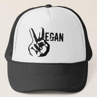 Boné Chapéu da paz do veganismo