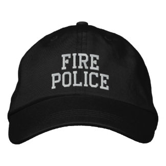 Boné chapéu da polícia do fogo