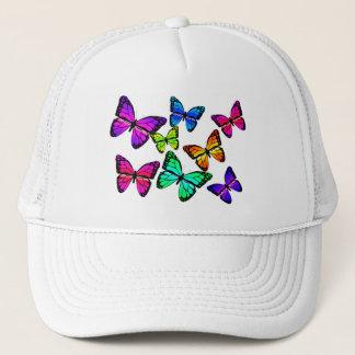 Boné Chapéu das borboletas